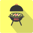 иконка гриль, иконка мангал, иконка барбекю, флэт иконки, icon brazier, icon grill, bbq icon, flat icons, іконка гриль, іконка мангал, іконка барбекю, флет іконки