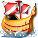 galeon, ship