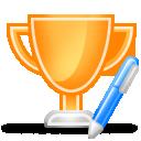 trophy write 128