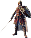 warrior, male, man, воин, мужчина, меч, щит