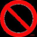 запрещающий знак, prohibition sign, verbotszeichen, panneau d'interdiction, señal de prohibición, segnale di divieto, sinal da proibição