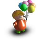 balloons, boy, шарики, мальчик