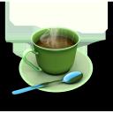 coffee, cup, кофе, чашка, ложка с блюдцем, spoon and saucer