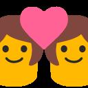 emoji, u1f469, 200d, 2764, fe0f, 200d, 1f469