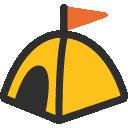 emoji, u26fa
