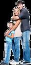 семья, счастливая семья