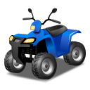 квадроцикл, вездеход, транспорт, quad bike, blue, quadrocycle, all-terrain vehicle, transport, всюдихід