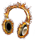 наушники в огне, музыка, огонь, пламя, headphones on fire, music, fire, flame, kopfhörer brennt, musik, feuer, casque en feu, musique, feu, flamme, auriculares en llamas, fuego, llama, cuffie in fiamme, musica, fuoco, fiamma, fones de ouvido, música, fogo, chama, навушники у вогні, музика, вогонь, полум'я