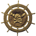 декор интерьера, штурвал корабля, череп пирата, interior decoration, the steering wheel of the ship, a pirate skull, inneneinrichtung, das lenkrad des schiffes, ein piratenschädel, décoration d'intérieur, le volant du navire, un crâne pirate, decoración interior, el volante de la nave, un cráneo del pirata, decorazione d'interni, il volante della nave, un teschio pirata, decoração interior, o volante do navio, um crânio do pirata