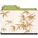 rebelheart woodgrain stamped bamboo