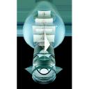 ship in bottle, корабль в бутылке