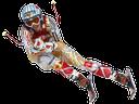 лыжник, спуск на лыжах, горнолыжный спорт, горы, зимний вид спорта