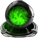 google chrome green