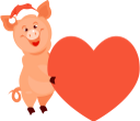 поросенок, новый год, год свиньи, символ года, свинья, животные, piglet, new year, year of the pig, symbol of the year, pig, animals, ferkel, neues jahr, jahr des schweins, symbol des jahres, schwein, tiere, porcelet, nouvel an, année du cochon, symbole de l'année, cochon, animaux, lechón, año nuevo, año del cerdo, símbolo del año, cerdo, animales, maialino, anno nuovo, anno del maiale, simbolo dell'anno, maiale, animali, leitão, ano novo, ano do porco, símbolo do ano, porco, animais, порося, новий рік, рік свині, символ року, свиня, тварини, сердце