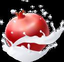 фрукты в молоке, фруктовый йогурт, брызги молока, fruit in milk, fruit yogurt, spray of milk, pomegranate, früchte in milch, fruchtjoghurt, milchspray, granatapfel, fruits au lait, yaourt aux fruits, aérosol de lait, grenade, fruta en leche, yogurt de fruta, spray de leche, granada, frutta nel latte, yogurt alla frutta, spruzzi di latte, melograno, фрукти в молоці, фруктовий йогурт, бризки молока, гранат
