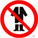 запрещающие знаки, вход в одежде запрещен, prohibiting signs, entry to clothing prohibited, verbotsschilder, eintritt in die verbotene kleidung, interdisant signes, entrée au vêtement interdit, la prohibición de signos, entrada a la ropa prohibida, che vieta i segni, ingresso per l'abbigliamento proibito, proibir sinais, entrada para a roupa proibido