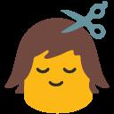 hair do, haircut, u1f487
