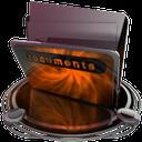 documents orange