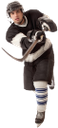 хоккей, хоккеист, клюшка, коньки, шлем