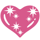 emoji, u1f496