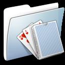 graphite smooth folder card deck