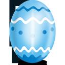 egg, blue