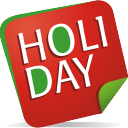 holiday, note