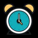 alarm clock, round clock, clock, будильник, круглые часы, часы