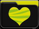yellow heart, желтое сердце