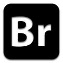 adobe bridge black