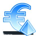sign euro pyramid