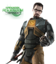 игра, game, half life, gordon freeman, халф лайф, гордон фримен, male, glasses, очки, мужчина в очках