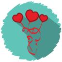 love flowers icon
