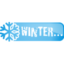 winter, button