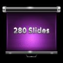 280 slides, 280 слайдов