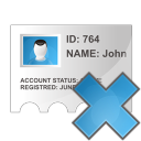 card, profile