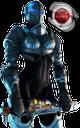 hellgate, робот с оружием, robot with gun