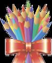 цветные карандаши, образование, школа, бант, color pencils, school, education, bow, buntstifte, schule, bildung, bogen, crayons de couleur, école, éducation, arc, lápices de colores, la escuela, la educación, el arco, matite colorate, la scuola, l'istruzione, l'arco, lápis de cor, escola, educação, arco, кольорові олівці, освіта