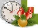 ветка ели, шары для ёлки, ёлка, бант, новый год, новогоднее украшение, настенные часы, время, branch of spruce, christmas balls, bow, christmas tree, new year, christmas decoration, wall clock, time, zweig der fichte, weihnachtskugeln, bogen, weihnachtsbaum, neujahr, weihnachtsdekoration, wanduhr, zeit, branche d'épinette, boules de noël, arc, arbre de noël, nouvel an, décoration de noël, horloge murale, temps, rama de abeto, bolas de navidad, árbol de navidad, año nuevo, decoración de navidad, reloj de pared, tiempo, ramo di abete rosso, palle di natale, albero di natale, anno nuovo, decorazione di natale, orologio da parete, ramo de abeto, bolas de natal, arco, árvore de natal, ano novo, decoração de natal, relógio de parede, tempo, гілка ялини, кулі для ялинки, ялинка, новий рік, новорічна прикраса, настінний годинник, час