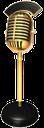 старинный микрофон, ретро микрофон, микрофон на стойке, студийный микрофон, устройство для записи звука, профессиональный микрофон, микрофон для радиостанции, микрофон для записи голоса, микрофон с табличкой в эфире, золотой микрофон, a vintage microphone, a retro microphone, a microphone on a stand, a studio microphone, a sound recorder, a professional microphone, a microphone for a radio station, a microphone for voice recording, a microphone with a sign on the air, a gold microphone, vintage-mikrofon retro-mikrofon, mikrofon auf dem stand, studio-mikrofon für tonaufnahmen, professionelle mikrofon, mikrofon für radio, mikrofon für sprachaufzeichnung, ein mikrofon mit einem schild in der luft, goldenen mikrofon, vintage microphone rétro microphone, microphone sur le stand, microphone de studio pour le matériel d'enregistrement sonore, microphone professionnel, microphone pour la radio, un microphone pour l'enregistrement vocal, un microphone avec un signe dans l'air, microphone d'or, micrófono de la vendimia retro micrófono, micrófono en el soporte, micrófono de estudio para los equipos de grabación de sonido, micrófono profesional, el micrófono de la radio, micrófono para la grabación de voz, un micrófono con un cartel en el aire, el micrófono de oro, microfono d'epoca retro microfono, microfono sul cavalletto, microfono da studio per apparecchi registrazione suono, microfono professionale, microfono per la radio, microfono per la registrazione vocale, un microfono con un segno in aria, microfono d'oro, microfone do vintage microfone retro, microfone no stand, microfone de estúdio para equipamento de gravação de som, microfone profissional, microfone para rádio, microfone para gravação de voz, um microfone com um sinal no ar, microfone de ouro