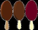 шоколадное мороженое на палочке, chocolate ice cream on a stick, schokoladen-eis am stiel, crème glacée au chocolat sur un bâton, helado de chocolate en un palo, gelato al cioccolato su un bastone, sorvete de chocolate em uma vara