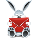 mail, bunny