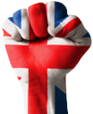 рука, кисть руки, жест, пальцы, часть тела, ладонь, кулак, пальцы руки, флаг британии, английский флаг, пальцы сжаты в кулак