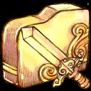 folder, sword
