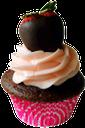 кекс, клубника в шоколаде, chocolate covered strawberries, mit schokolade überzogene erdbeeren, petit gâteau, fraises enrobées de chocolat, magdalena, fresas cubiertas de chocolate, cupcake, fragole ricoperte di cioccolato, queque, morangos cobertos de chocolate