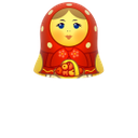 red, matreshka, up