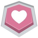 weheartit icon, love, heart, favorite