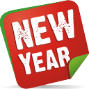 new, year, note