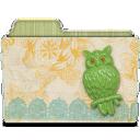 rebelheart brooch resin owl