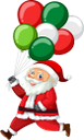 новый год, санта клаус, воздушные шарики, дед мороз, новогодний праздник, костюм санта клауса, люди, new year, balloons, new year holiday, people, santa claus costume, neues jahr, luftballons, weihnachtsmann, neujahrsfeiertag, menschen, weihnachtsmann-kostüm, nouvel an, ballons, père noël, fête du nouvel an, gens, costume de père noël, año nuevo, globos, santa claus, año nuevo vacaciones, personas, traje de santa claus, palloncini, babbo natale, capodanno, persone, costume di babbo natale, ano novo, balões, papai noel, feriado de ano novo, pessoas, traje de papai noel, новий рік, повітряні кульки, дід мороз, новорічне свято